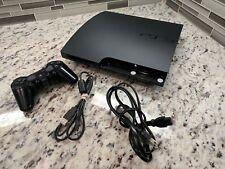 Sony Playstation 3 Slim PS3 120GB Konsole Bundle Spiel System HDMI CECH - 2001A