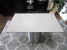 HPL Platte Tischplatte 8mm 1045 x 650 mm Stone Grey beidseitig TRESPA® Meteon®
