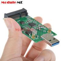 USB 3.0 to Mini PCIE mSATA SSD External mSATA to USB 3.0 SSD Convertor Adapter