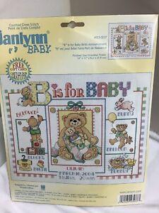 Janlynn Baby Counted Cross Stitch
