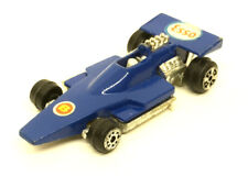 Vintage Bantel Super Wheels F-1 Race Car Blue Esso Petrol 1:64 Diecast Hong Kong