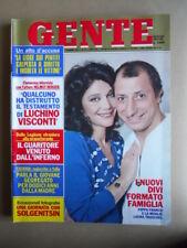 GENTE n°12 1982 Pippo Franco Laura Troschel Stephanie di Monaco [Q9]