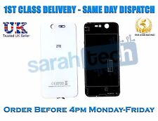 New ZTE Blade S7 Glass Rear Housing Battery Door Cover Panel Case White