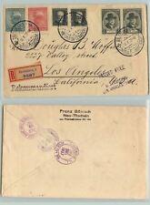 Czechoslovakia 1937 cover Bratislava to Chicago used . d7227