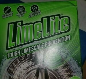 Limelite limescale Washing Machine Water Softener Choose from 3 -30 tablets