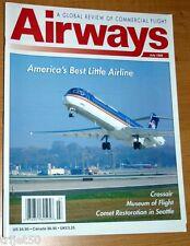 Airways 1999 July Midwest Express,Crossair