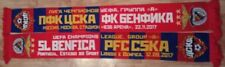 Scarf CSKA Moscow - FC Benfica  Matchscarf UEFA CHAMPIONS LEAGUE
