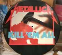 METALLICA - KILL 'EM ALL - PICTURES NUOVO - VINILE 33 GIRI NUOVO