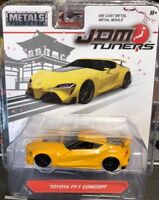 JADA JDM TUNERS TOYOTA FT-1 CONCEPT YELLOW SCALE 1:55 NEW IN PACKAGE DIECAST