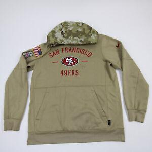 San Francisco 49ers Nike Dri-Fit Sweatshirt Men's Olive/Red Used