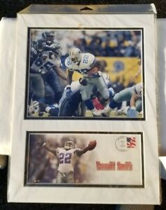 2002 Emmitt Smith Dallas Cowboys Picture FRAMED Poster Photo & Cover 12x16 NFL