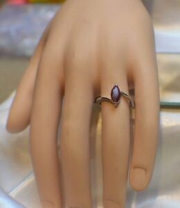2.15ct. NATURAL GENUINE AFRICAN RED RUBY IN STERLING SILVER  STATEMENT RING
