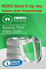 Nero BackItUp 2017 Vollversion Download Lizenz ohne Verpackung