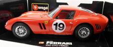 Modellini statici di auto da corsa verde Ferrari, scala 1:18