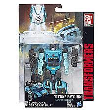 Transformers Generations Titans Return Wave 4 Deluxe Flintlock & Sergeant Kup UK