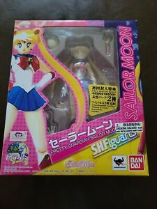 Sailor Moon S.H. Figuarts Figure 20th Anniversary Bandai Tamashii NEW In Box