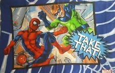 Spiderman Zing Take That! Standard Pillowcase with Dr. Octopus Marvel Comics