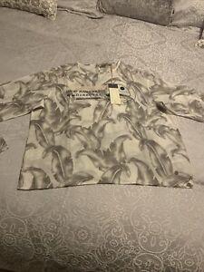 Roxy Top. Cotton/silk Bnwt. Size XL