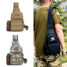 Men Women Crossbody Sling Backpack Chest Shoulder Bag Travelling Hiking