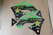 FX TEAM ROCKSTAR  KAWASAKI GRAPHICS KXF250 KX250F  2009 2010 2011 2012