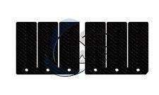 KD AIR Carbon Membrane Reeds passend für KTM 125 SX 125 SX125