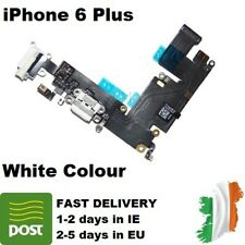 For Apple iPhone 6 Plus Charging Port Dock White Replacement Flex Cable