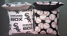 Chicago White Sox Mlb Cornhole 8 Bags - New Baseball Corn hole Baggo