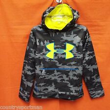 UNDER ARMOUR Storm Caliber Hoodie Youth (YMD) #1265756-019 Chrcl/BlJt/Snblchd