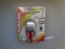Kit Chargeur de Pile AA (LR03) + Piles Rechargeable UNIROSS - Neuf