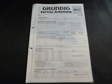 Original Service Manual Schaltplan Grundig RF 820
