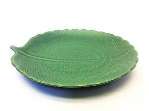 Kotobuki Made in Japan 50 San Francisco Green Leaf Design Soap Dish