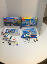 VINTAGE LEGO Boats/Cabin Cruiser(4011) Coastal Cutter(6353)w/Instructions/Boxes