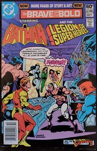 Brave and the Bold #179 VF+ 8.5 (DC 1981) Guest: Legion of Superheroes!