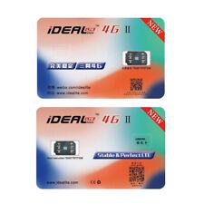 iDeal II Unlock Turbo RSIM 12+ SIM Card For iPhone X 8 7 6s 6 Plus 4G iOS 12 11