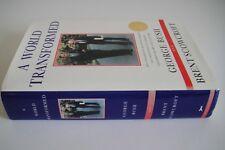 "(George H W Bush) Signed ""A WORLD TRANSFORMED"" Book"