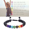 7 Chakra Healing Beaded Natural Lava Stone Diffuser Yoga Reiki Prayer  Bracelets