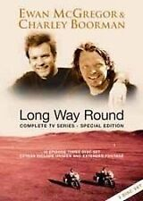 Long Way Round - Complete TV Series (DVD, 2005, 3-Disc Set)