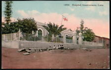 GUANTANAMO CUBA Hospital Antique 1915 Prelinen Postcard