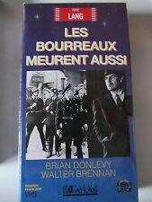 Les Bourreaux Meurent Aussi de Fritz Lang, VHS Atlas, Guerre, NEUF!!!!!