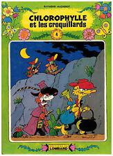 CHLOROPHYLLE et les croquillards by Raymond Macherot 1980 TINTIN 4 Comic