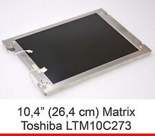 "10,4"" 26,4cm LCD SCREEN MATRIX TOSHIBA LTM10C273 800x600 FÜR INDUSTRIE INVOICE"