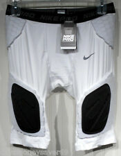 NWT Nike Pro Combat Hyperstrong Mens Compression Football Shorts XXL White $70