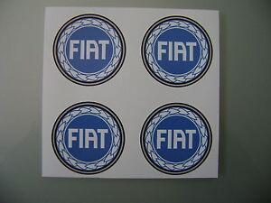 4x 65 mm fits FIAT alloy wheel STICKERS center badge trim cap hub alloy bu