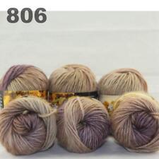 6Balls x 50g Chunky DIY Needle crafts Hand-Woven Knitting Scores Wool Yarn 06
