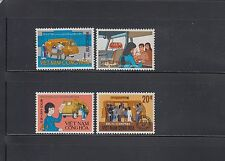Vietnam South 1969 Mobile Post Office Sc 351-354 complete  mint never hinged
