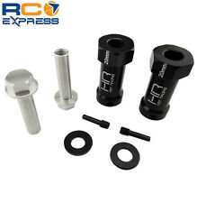 Hot Racing Axial Wraith Aluminum 12mm Hex Hub Adapters w/ 20mm Offset SCX10TT01