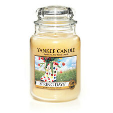 ☆☆SPRING DAYS☆☆ LARGE YANKEE CANDLE JAR~FREE SHIPPING☆☆SPRING SCENTED CANDLE