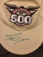 Dan Wheldon Indy 500 Indianapolis winner 2005 2011 signed hat in person