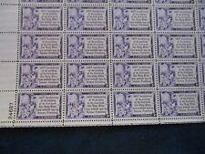 Gutenberg Bible-Plate block of 16  #1014