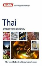 Phrase Book: Thai Phrase Book and Dictionary by Berlitz Publishing (2012,...